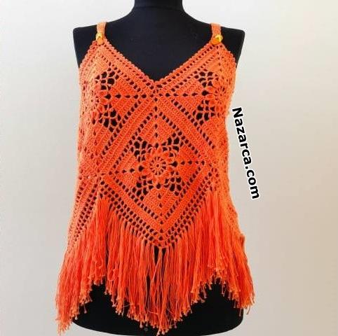 turuncu-motifli-bayan-bluzlari