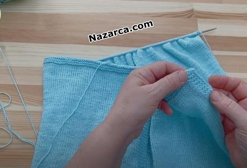 yirtmacli-kolsuz-sis-isi-mavi-kiz-elbise