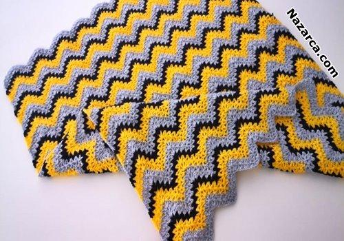 How- do- you- crochet- a- V- stitch- baby- blanket