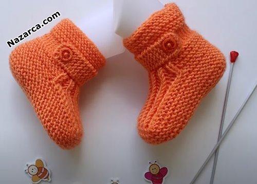 yani-dugme-detayli-turuncu-bebe-patigi