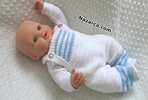 Crochet-Baby- Romper -Pattern