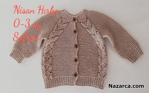 nisan-bebek-hirka-safran-knit-videosu