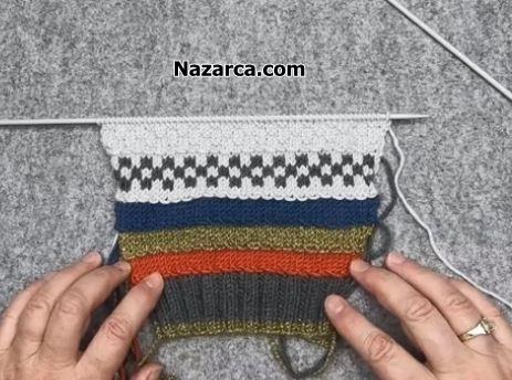 Cocuk-kazak-kol-renkli-damali-desenli-jakar-orgu