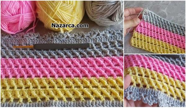 Nazarca-2-uclu- 1-capraz Trabzan-bebek-battaniyesi
