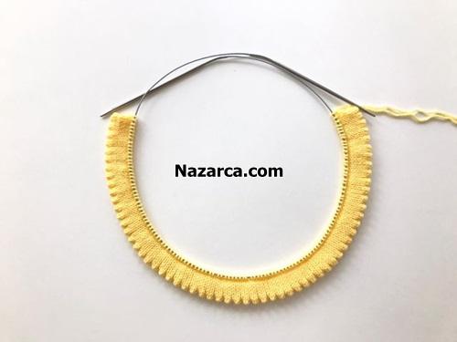 Sari-kiz-elbiseye-etekten-tirtikli-baslama