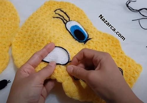 Tweety-crochet