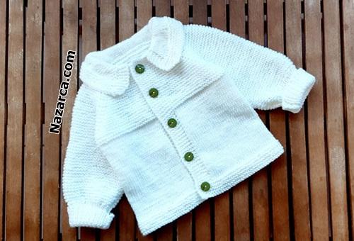 orgu-beyaz-ceketli-yesil-pantolonlu-bebek-takim