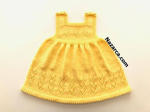 sisle-ajurlu-sari-kiz-bebek-elbise-nazarca