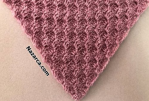 Crochet-Corner -to -Corner- C2C-shawl