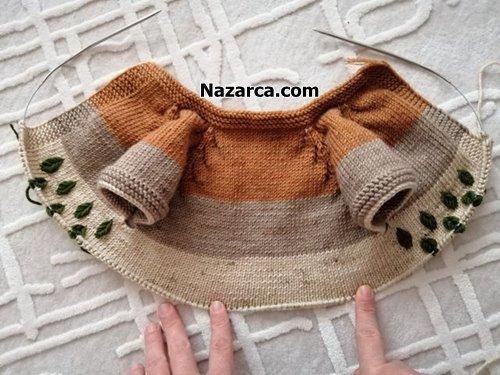 hazan-yaprakli-ebruli-bebek-yelegi-tarii