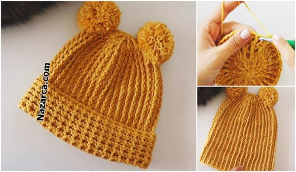 Nazarca-Yetişkin-cocuk -Şapka -modeli-tarifi