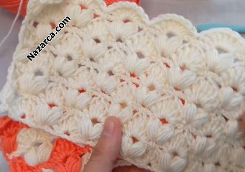 Nazarca-bebek-battaniyeleri-turuncu-krem