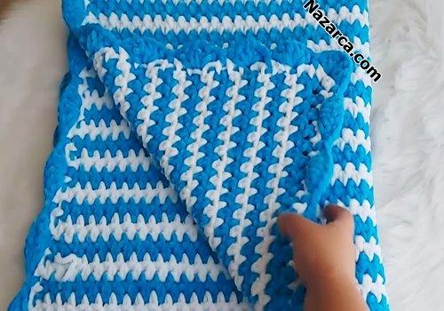 mavi-beyaz-erkek-bebek-zikzak-kadife-battaniye