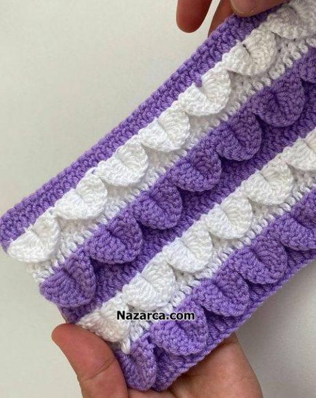 2-renk-sisrasi-ile-lila-beyaz-bebek-battaniye-yepimi