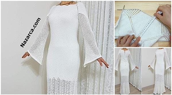 Nazarca-oren-bayan-yarismasi-beyaz-orgu-kadin-elbise