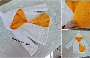 Nazarca-2-yonlu-sari-beyaz-kapusonlu-cocuk-hirkasi