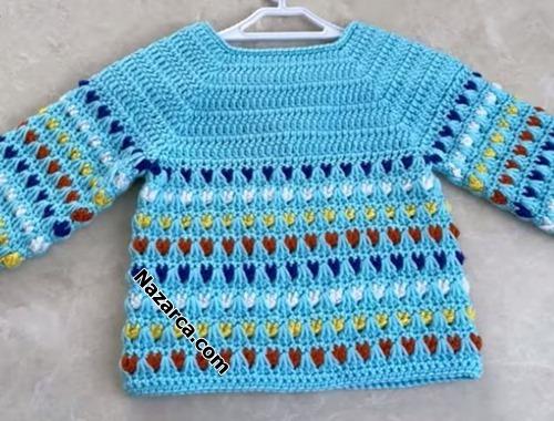 bebek-hirka-ceket-6-renkli-tig-modelli