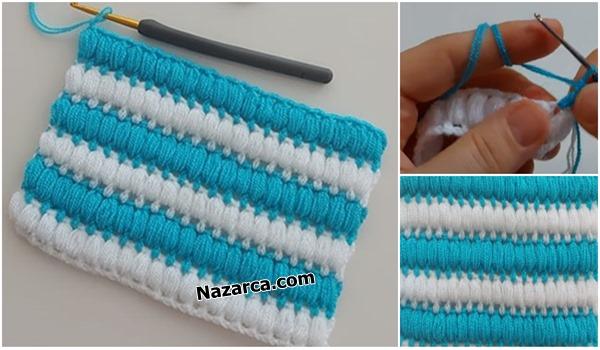 Dolgu-fistik-mavi-beyaz-battaniye-nazarcacom
