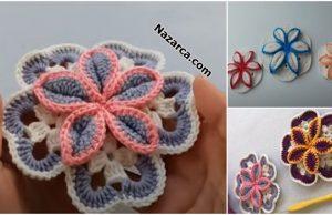 Lotus- Flower- Crochet -Knitting-tig-orgu-nazarca