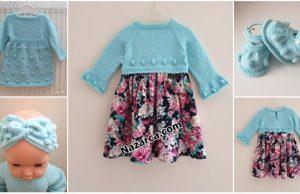 Mavi-kiz-bebek-orgu-2-elbise-bandana-patik