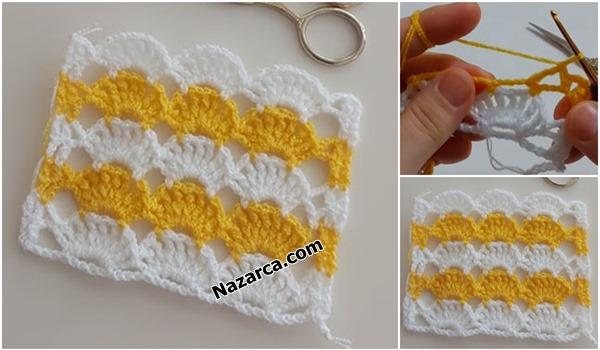 Sari-beyaz-yazlık-battaniye-nazarcacom