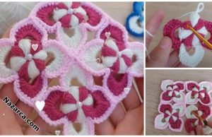 How- to-crochet-model-incili-3-renk-motifler