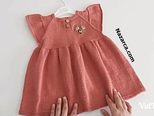 koyu-gul-kurusu-el-orme-kiz-elbise