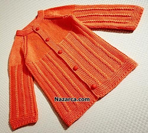 kabarik-uzun-ornekli-turuncu-bebek-ceketi