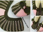 Seamless -2-Needle-Knitted-Booties-Patik