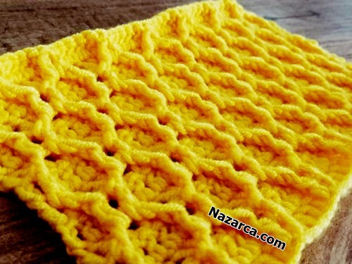 crochet -knitting-Honeycomb