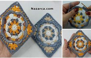 Otantik-tig-isi-Authentic- Granny- Square -Crochet